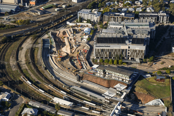 Boggo Road station construction update - September 2020