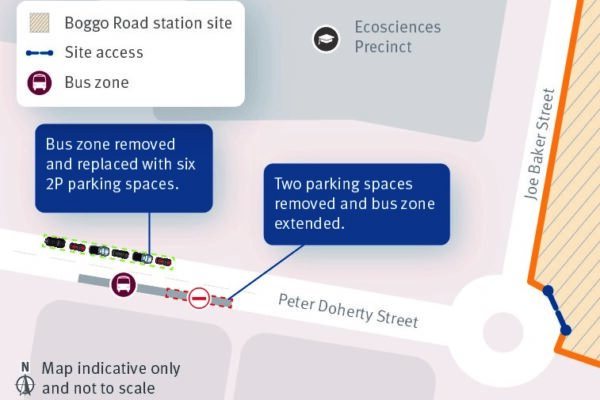 Peter Doherty Street - Car park changes